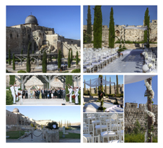 Party planning wedding in Israel