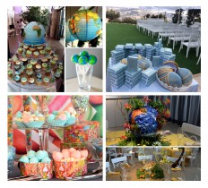 creation theme bar mitzvah